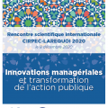 rencontre scientifique internationale