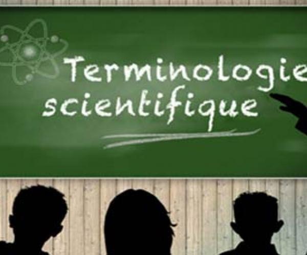Initiation à la terminologie scientifique