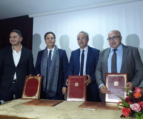 اتفاقيات للشراكة مع رواد الابتكار